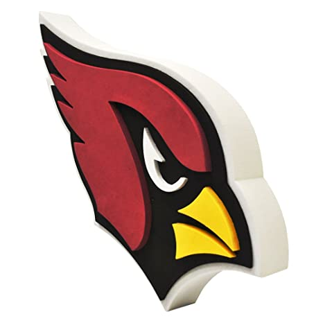 ARIZONA CARDINALS 3D BRXLZ LOGO