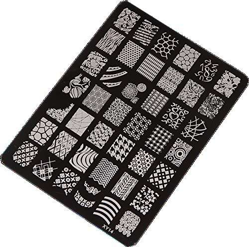 Stamping Printing Plate Manicure Nail Art Decor 14.5x10.5cm - 1