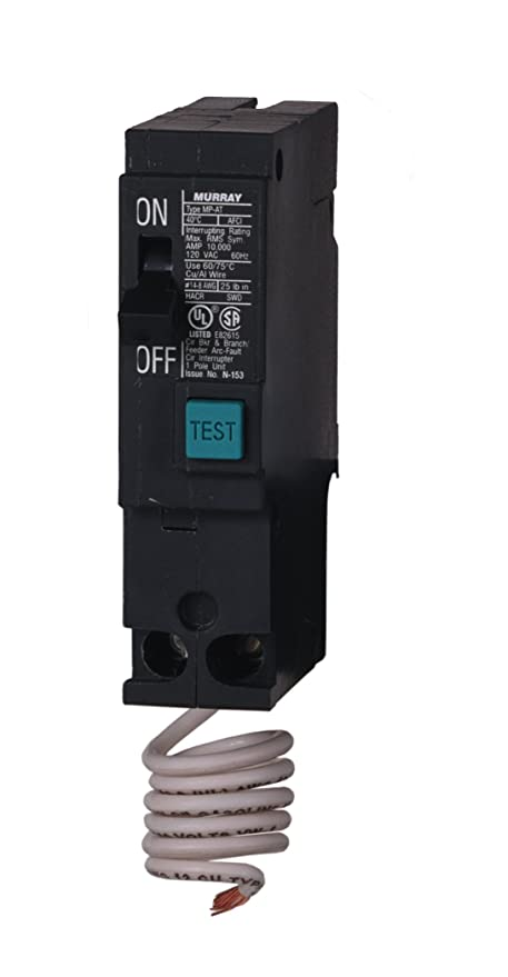 Murray MP115AF 15-Amp 1 Pole 120-Volt Arc Fault Circuit Interrupter ...