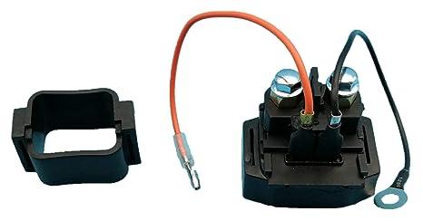 Tuzliufi Replace Starter Solenoid Relay Yamaha 210 212 230 232 700 800 1000  1100 1200 1300 2000 AR FX GP LS LX RS SJ SR SX SS VX X XL XLT Limited