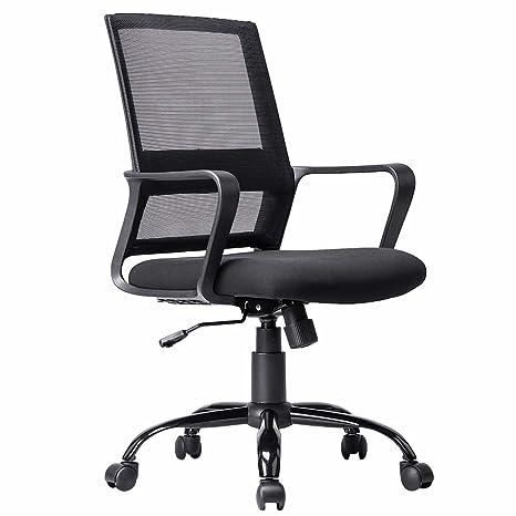 9f74242d80c Amazon.com  BestMassage Ergonomic Office Chair Desk Chair Mesh Computer  Chair Back Support Modern Executive Rolling Swivel Chair for Women