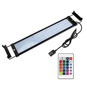 Nicrew Rampe Led Aquarium Eclairage Led Pour Aquarium D Eau Douce