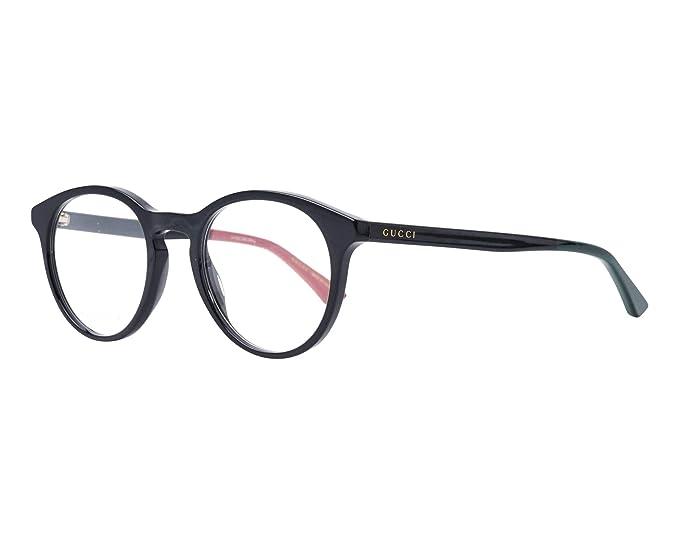 43e354eae0 Gucci GG0406O SHINY BLACK (003) - Monturas de gafas: Amazon.es: Ropa y  accesorios