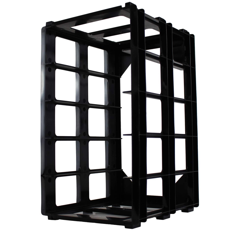 Plastic Storage Box Holder Frame A4 Box Size WestonBoxes Box Stak