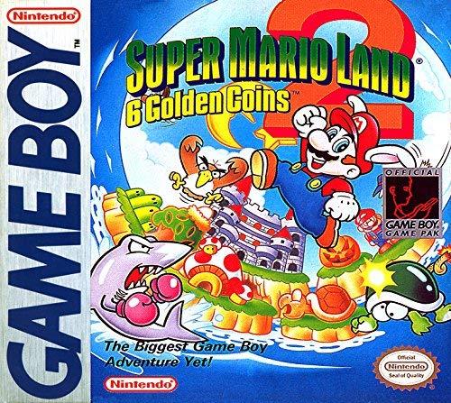 Super Mario Land 2: 6 Golden - Game Boy Land Kong Donkey