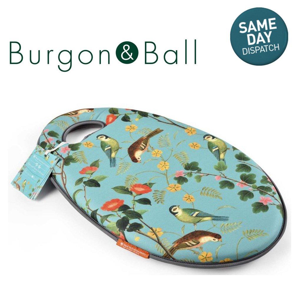 RHS Burgon & Ball Flora & Fauna Kneeler Ultra Cushion Memory Foam Gardening Kneeling Pad RHSBurgonandBall
