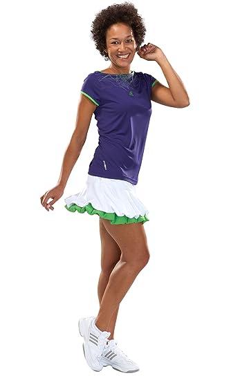 best service 8cd97 87cfa Adidas AdiZero Cap-Sleeve Tee Damen Tennis T-Shirts Formotion Tennisshirts  Tops Oberteile kurzärmliges Sportshirts Trainingsshirts Court ...