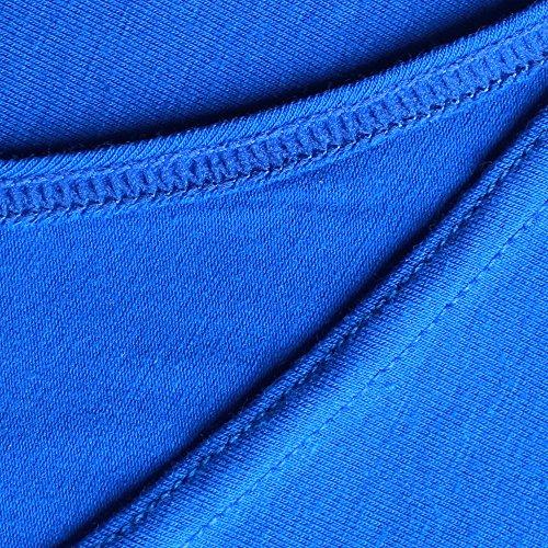 Stringer Cm Canottiera Palestra Uomo Da Stretto Cotone Blu Musclealive Cinturino 1 w6TpE
