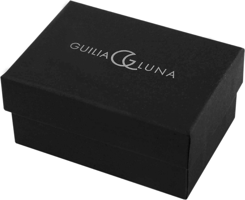 GL5200086 Boucles dOreille Femme T/ête de mort Strass Argent 925//1000 Giulia Luna