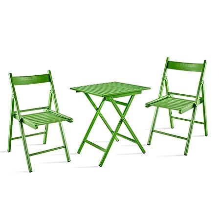 Tavoli E Sedie Da Giardino In Ferro.Home Table Zwd Tavolo E Sedie Da Esterno Combinazione Balcone