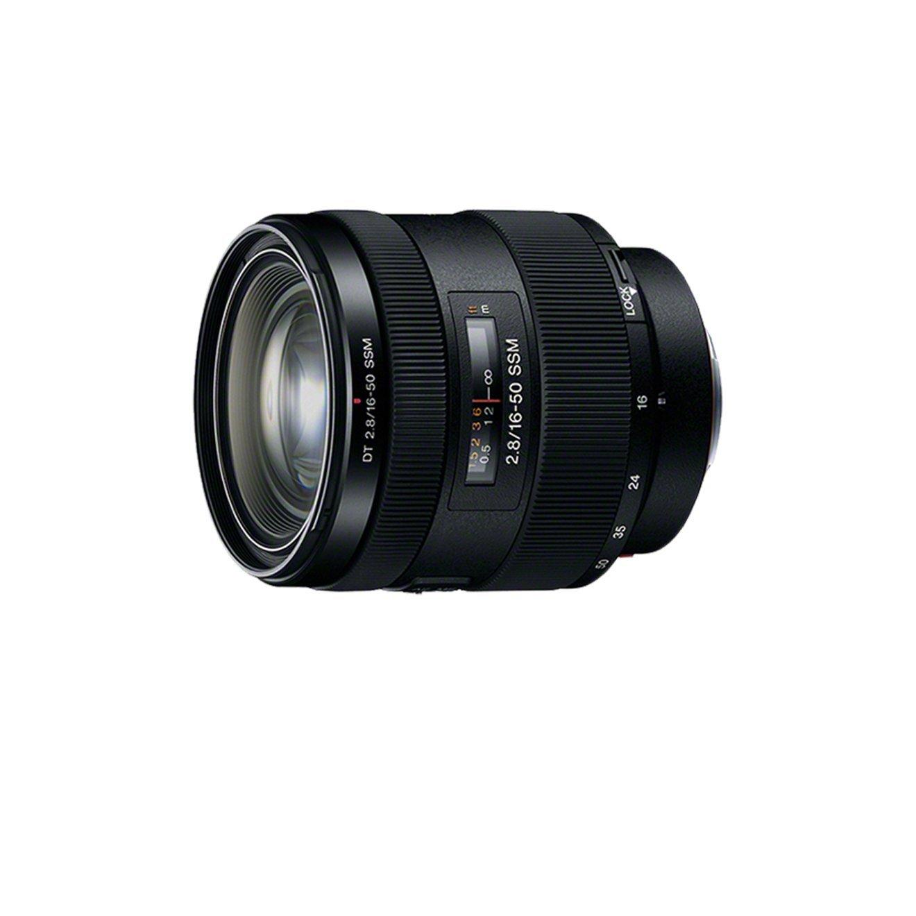 Sony SAL Objetivo para Sony distancia focal mm apertura f  negro