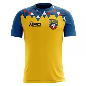 Airo Sportswear 2018-2019 Colombia Home Concept Football Soccer T-Shirt Camiseta