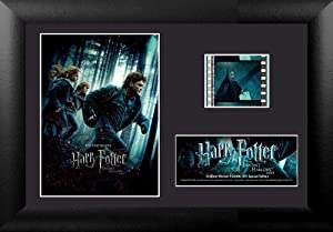 "Trend Setters - Harry Potter Deathly Hallows Part 1 – FilmCells 7"" x 5"" MiniCell Desktop Presentation – Featuring 35 mm Film Clip with Easel Stand"