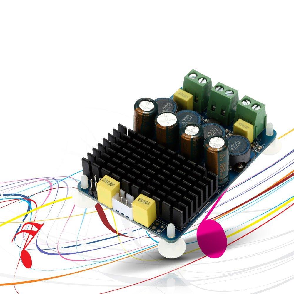 Kkmoon Tda7498e Amplifier Module 2 X 100w Dual Channel Wholesale Class D 2x 80w Stereo Circuit Design Tda7498 Elektronik