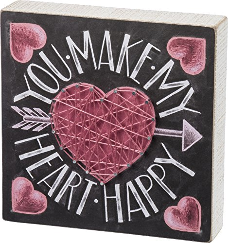 Primitives By Kathy, Chalk Sign - Heart ()