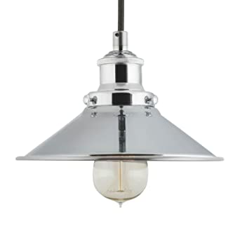 andante industrial kitchen pendant light u2013 chrome hanging fixture linea di liara llp407