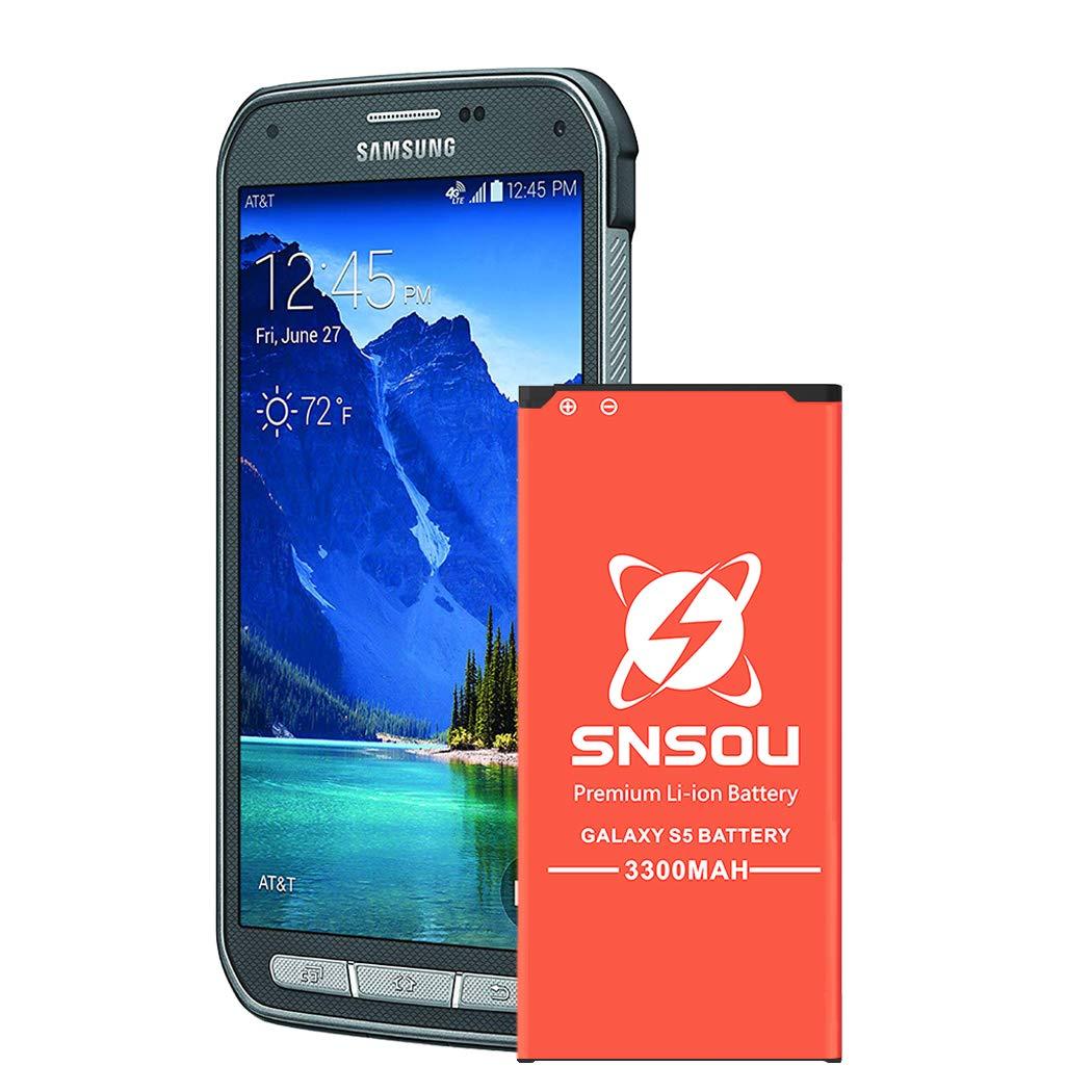 Bateria Galaxy S5 Active Upgrade Snsou 3300mah Li Ion Para Samsung Galaxy S5 Active Sm G870 At&t & Galaxy S5 Spo