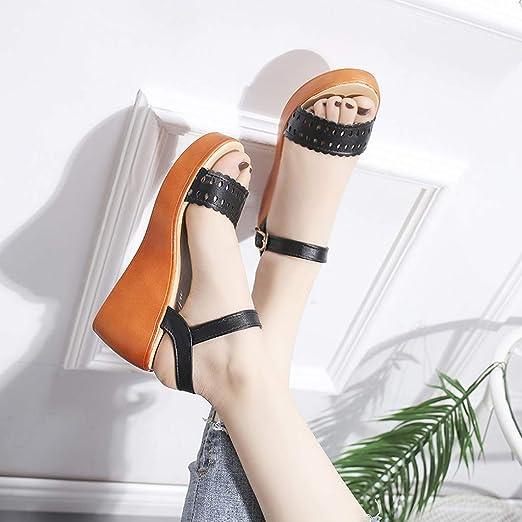 ❤️ Sunbona On Sale Women Gladiator Sandals Ladies Summer Knee High Open Toe Flats Sandal Boots Platform Roman Party Dress Shoes