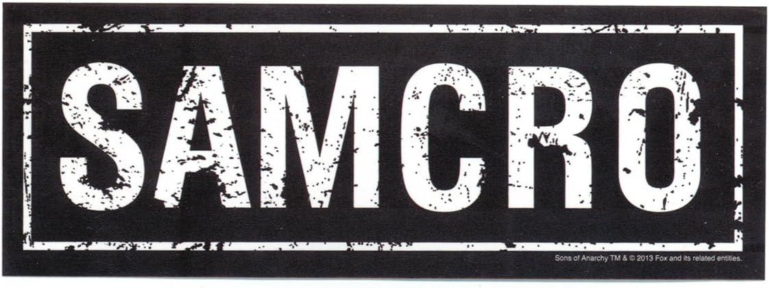 Officially Licensed & Trademarked Products Sons of Anarchy Samcro Sticker: Amazon.es: Juguetes y juegos