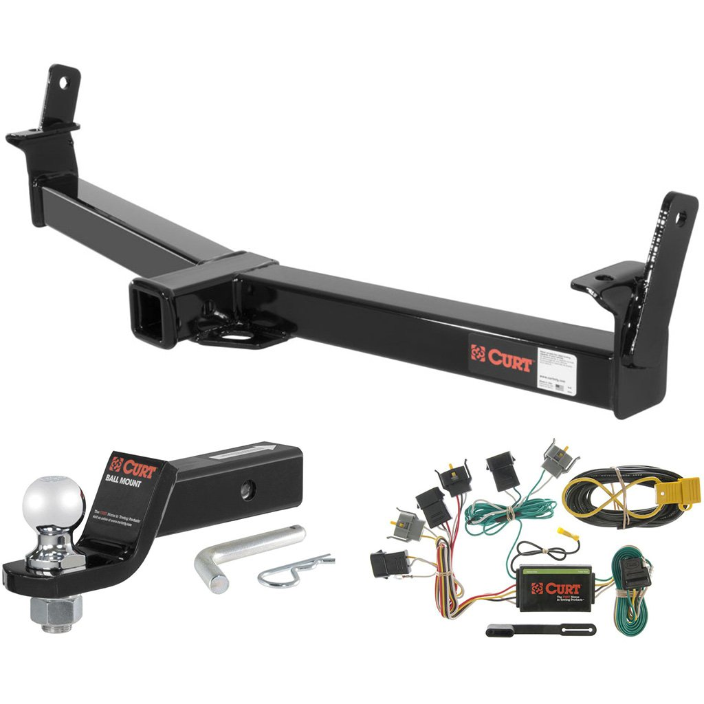 Curt Class 3 Hitch Tow Package W 2 Ball For Ford 2007 Mercury Mountaineer Trailer Wiring Explorer Automotive
