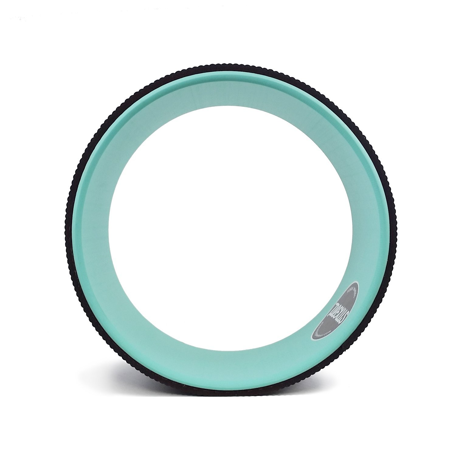 Wont Break Down like Foam Roller or Massage Roller 5MM Extra Comfort Yoga Mat Plexus Yoga Wheel Brown Aqua 10 Relieves Pain and Stress in your Back Hips Chest Shoulders Great Back Opener