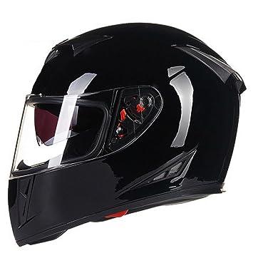 WANG-LONG ABS Casco De Moda Al Aire Libre Hombres Y Mujeres Ligero Motocicleta Moto