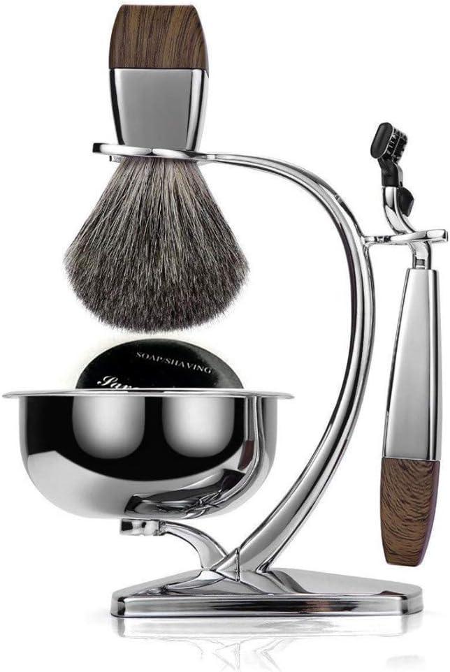 Soporte de cuchilla manual para afeitar porta cuchillas rack de almacenamiento de maquinilla de afeitar Hu estante, A