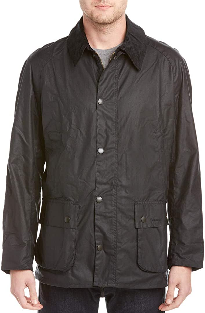 Barbour Mens Ashby Coat, S Black at  Men's Clothing store: Cotton Lightweight Jackets