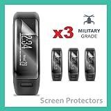 SUPREME SHIELDS for Garmin Vivosmart HR Screen Protector Military Grade Protection