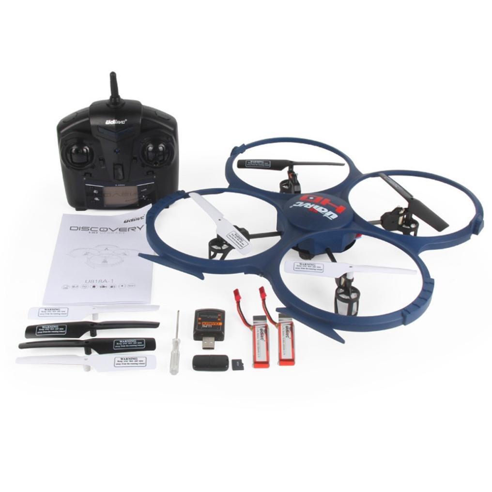 Omiky® Fashion 2017 UDI U818A-1 2,4 GHz 4 CH 6 Achsen-Gyro Headless RC Quadcopter Drone mit HD-Kamera