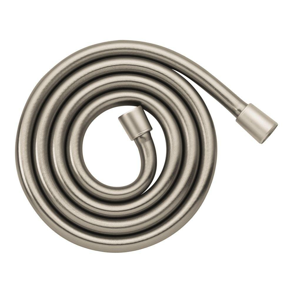Hansgrohe 28274820 Techniflex B Hose, 80-Inch, Brushed Nickel by Hansgrohe (Image #2)