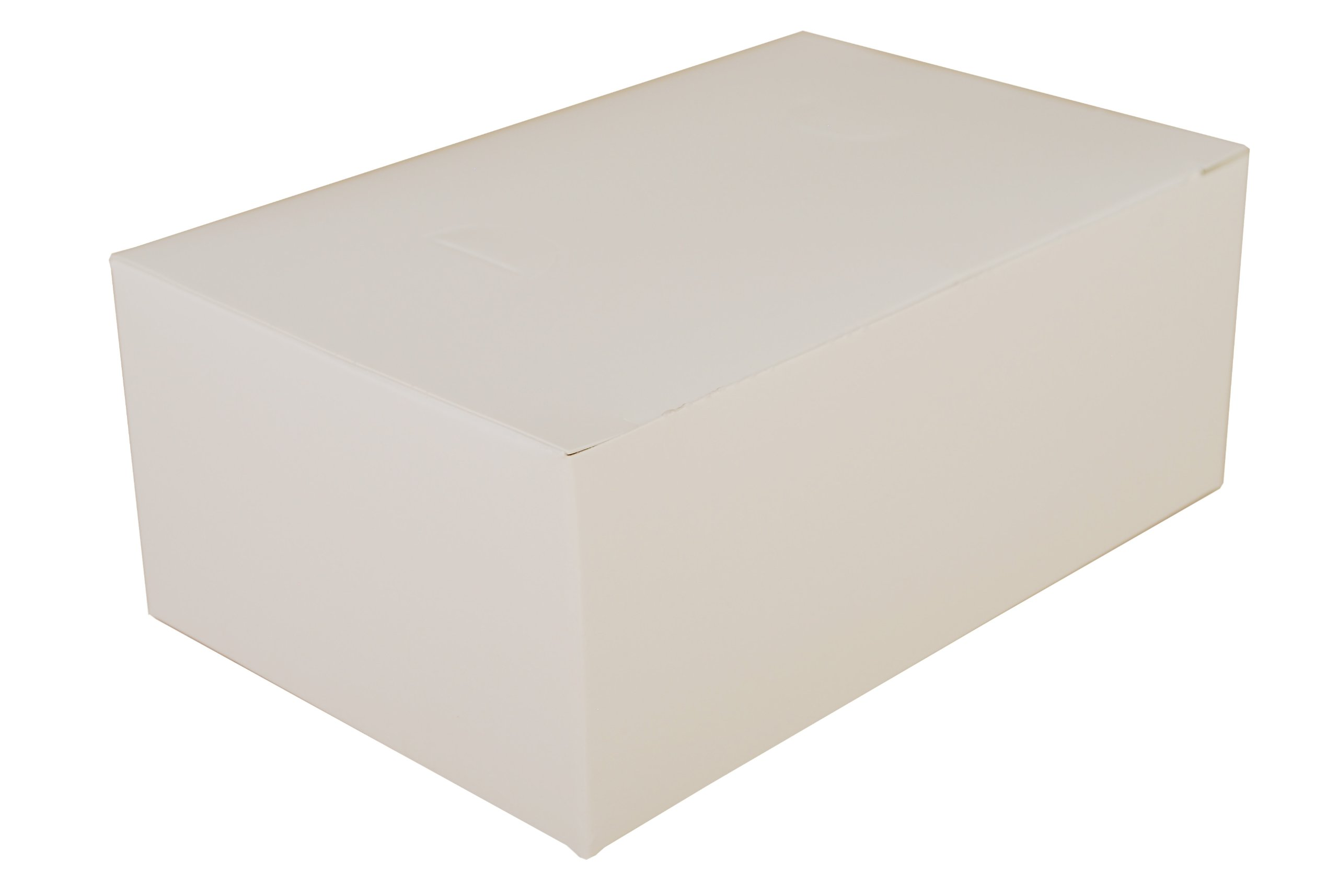 Southern Champion Tray 2717 Paperboard White Snack Carry-Out Box, Tuck Top, 7'' Length x 4-1/2'' Width x 2-3/4'' Height (Case of 500)