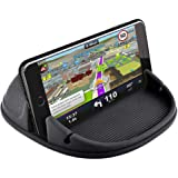 Car Phone Holder, Car Phone Mount Silicone Car Pad Mat for Various Dashboards, Anti-Slip Desk Phone Stand Compatible…