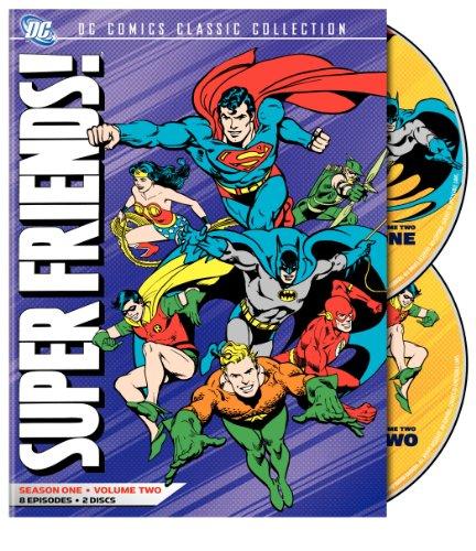 DVD : Superfriends: Season One: Volume 2 (, Dolby, AC-3, Eco Amaray Case, Widescreen)
