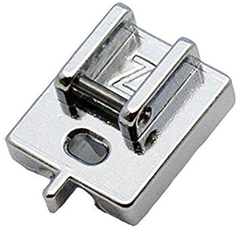 Alfa Prensatelas para cremallera invisible, accesorio para máquina ...