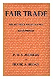 img - for Fair trade: Resale price maintenance re-examined book / textbook / text book