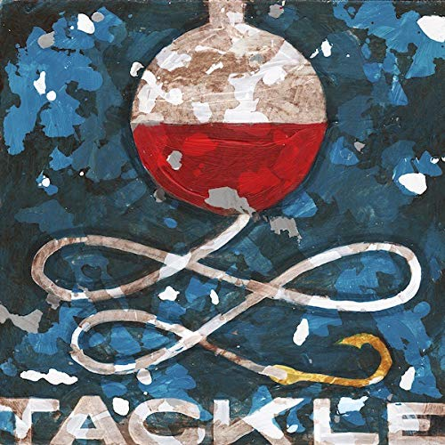 Tackle Fishing Bobber Camping, Lodge, Fishing Wall Art Decor by Aaron Christensen Stretched Canvas Reproduction- Authentic Artist Direct. Multiple sizes listed. Made in my Portland, Oregon studio.