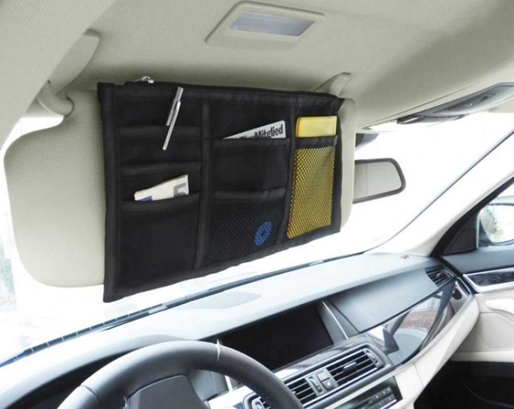 Macemaro Trading Kfz Sonnenblenden Organizer Auto