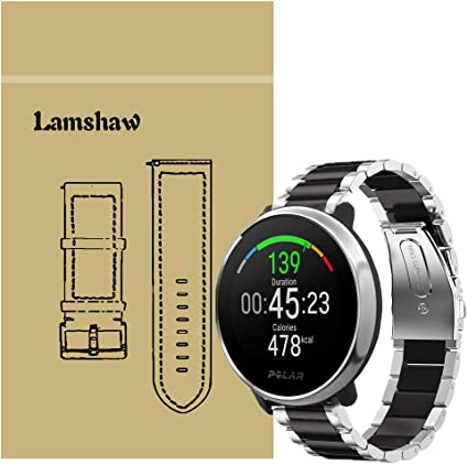 Amazon.com: for Polar Ignite Band, Lamshaw Stainless Steel ...
