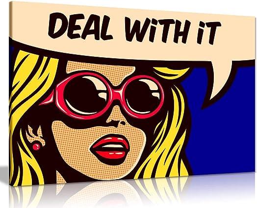 Modern Pop Art Girl Deal