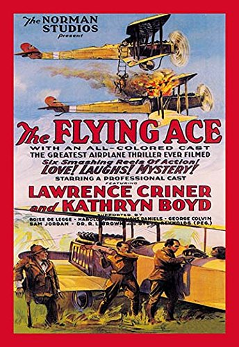 Buyenlarge 0-587-01231-5-C2030 Flying Ace Movie Poster Gallery Wrapped Canvas Print, 20