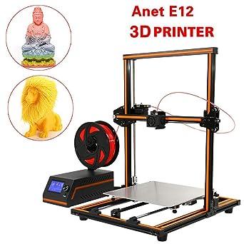 RANZIX Anet E12 - Impresora 3D (300 x 300 x 400 mm, marco de ...