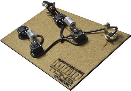 amazon com mojotone pre wired es 335 style premium wiring kit rh amazon com mojotone les paul wiring harness Wiring Harness Diagram