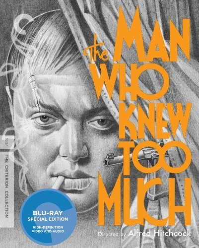The Man Who Knew Too Much (Criterion Collection) [Blu-ray] by Criterion Collection