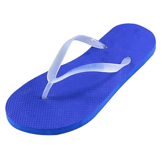 Heheja Unisex Flip Flops Sommer Strand Zehentrenner Summer Beach Pool Schuhe Grün L Rd1MtE