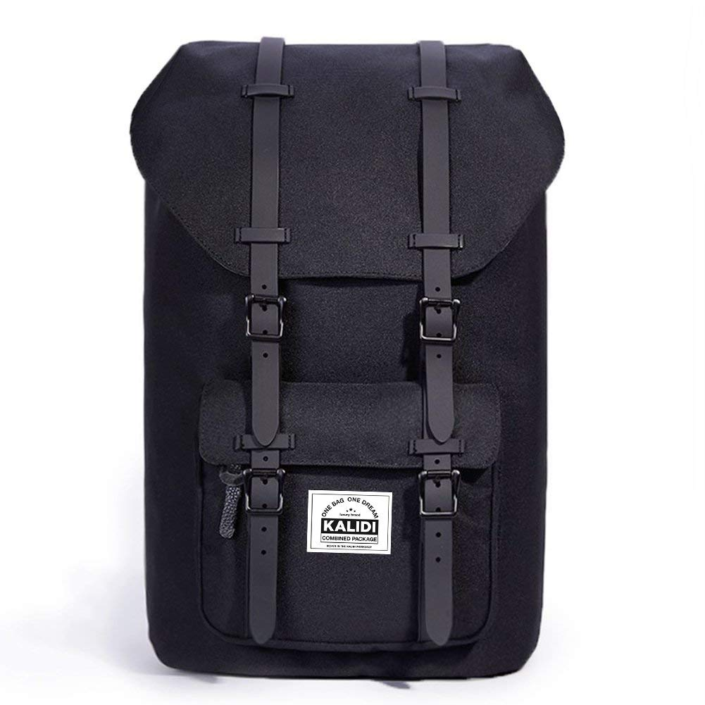 a5add5afef KALIDI 17 Inch Laptop Backpack Rucksack Travel Hiking Outdoor Backpack  Schoolbag For Men and Women Fits 15
