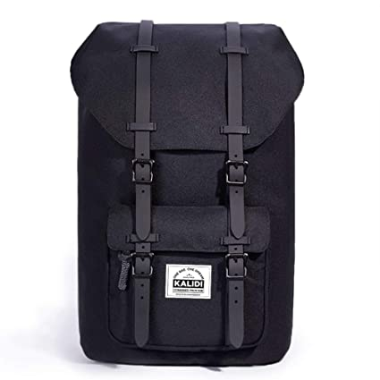 338545594a0e KALIDI 17 Inch Laptop Backpack Rucksack Travel Hiking Outdoor Backpack  Schoolbag for Men and Women Fits 15