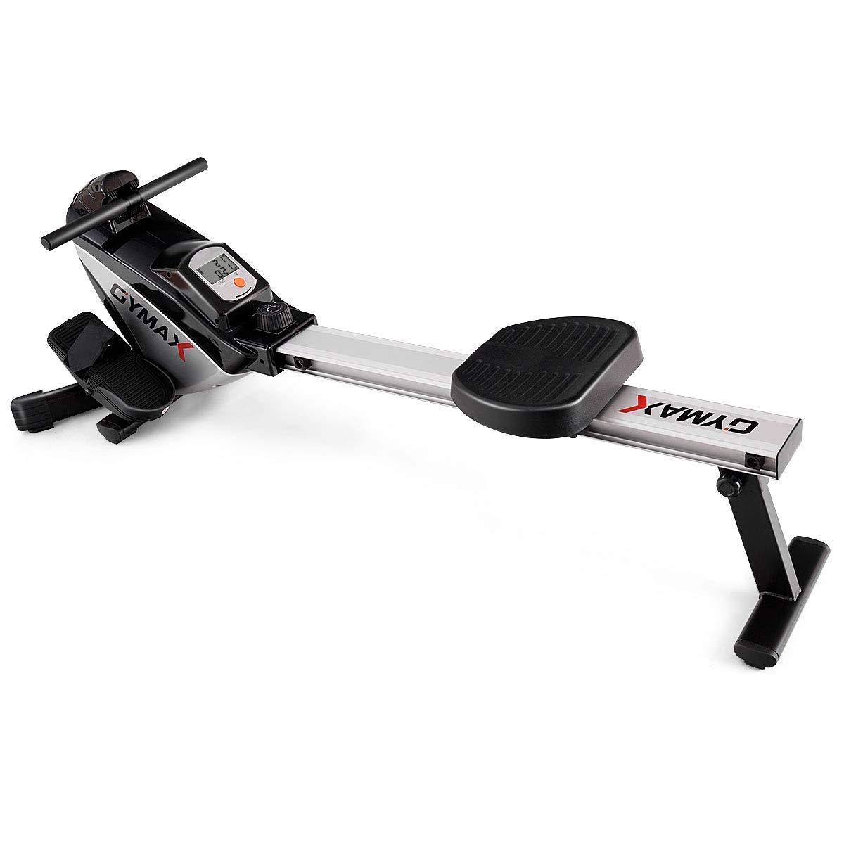 Goplus Magnetic Rowing Machine Folding Rower with LCD Display and Adjustable Resistance Exercise Cardio Fitness Equipment by Goplus (Image #3)