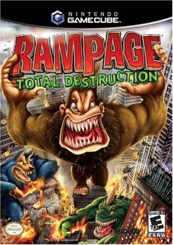 Amazon Com Rampage Total Destruction Gamecube Renewed Video