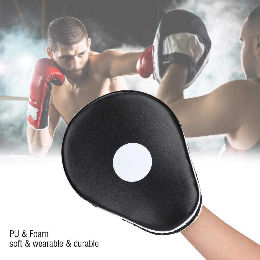 Escudo de Boxeo Artes Marciales Patada Pad Kickboxing Punch Target Pad Focus Mitts Almohadillas de Mano de Entrenamiento de Objetivo para Karate Muay Thai MMA Boxing Kicking